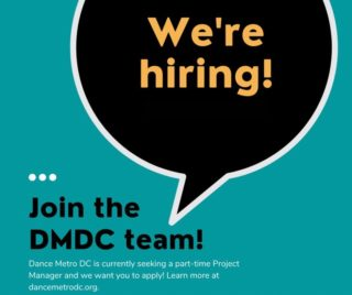 Join our team! DMDC is looking for a part-time Project Manager who will take the lead on managing membership and communications matters for DMDC and support DMDC programming. This position would be best for an individual who can think creatively, work autonomously, and has excellent organizational and communication skills. Interested applicants should have the capability to work remotely, but should live in the DMV area. Click the 🔗  in our bio to learn more and apply!  https://tinyurl.com/wk88xcyv